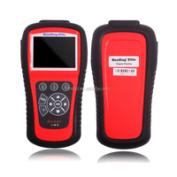 Car Scanner Autel MD802 MaxiDiag Elite MD802 Four Systems OBD II Autel md 802 Four System + Live Data+Service Reset+EPB