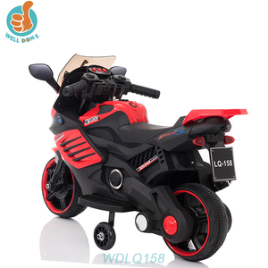 WDLQ158 Battery Operated Ride On Motorcycle For Kids To Drive Baby King Car