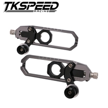 CNC Motorcycle Accessories Rear Axle Spindle Chain Adjuster Blocks chain adjuster tensioners For YAMAHA Tmax 530 2013-2016