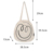 New style white cotton canvas tote bag gift shopping bag for promotion
