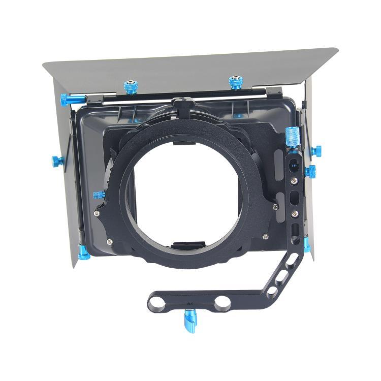 YELANGU アルミ合金マットボックスユニバーサルデジタル一眼レフ、 HDV ビデオカメラ