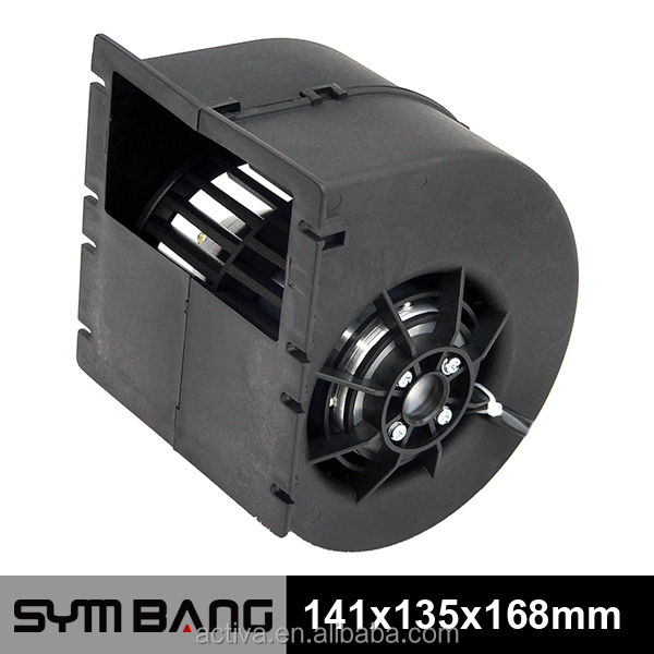 12v 24v DC Brushless big Centrifugal Fan Blower for bus (DCB141135)