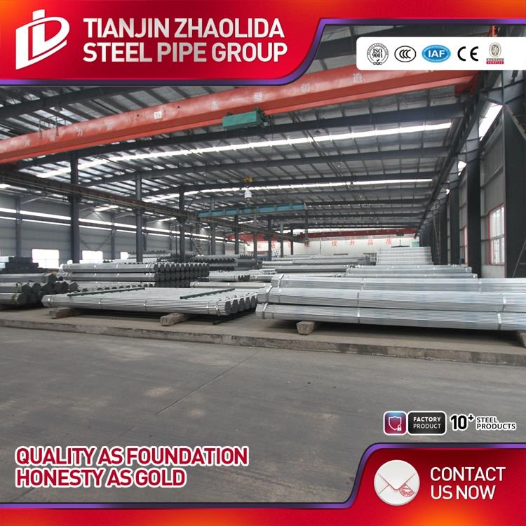 ASTM A53 fire fighting material galvanized steel pipe for building structure made in China