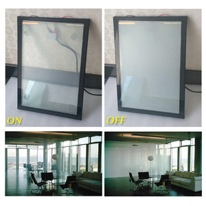 PDLC Black Smart Frosted Glass Partition Color Option