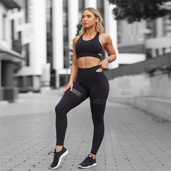 2022dd88a86 2018 Women's Suits Yoga Sports Wear Activewear Sexy Sport Fitness Clothing  Sets Gym Clothes For Women