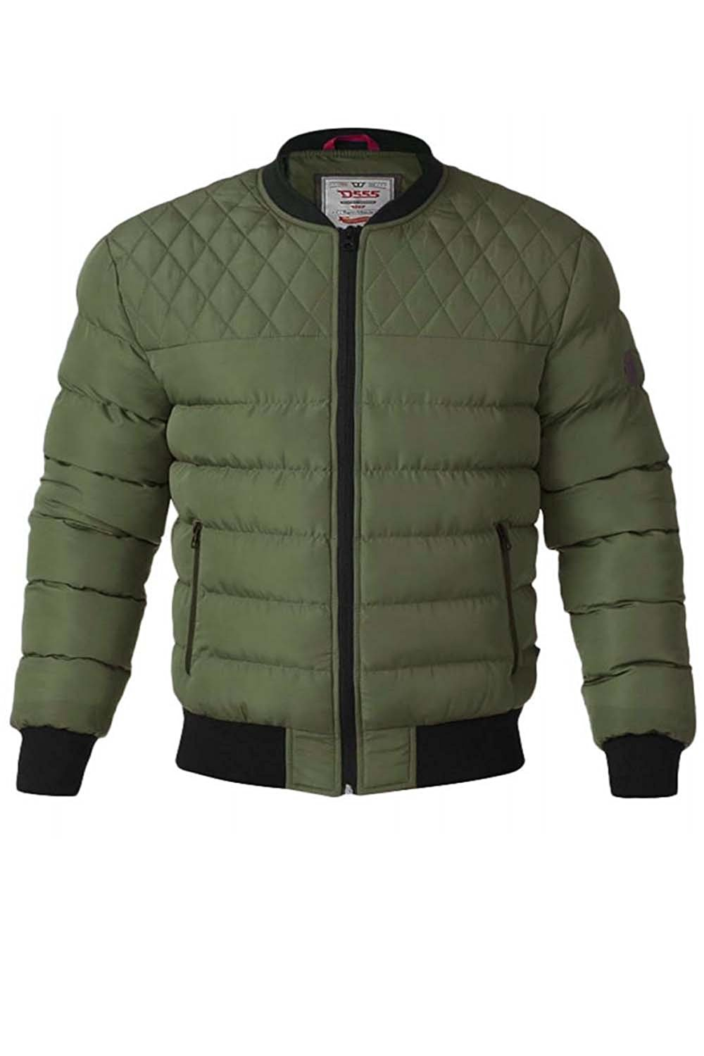 492052a5e0e1 Get Quotations · Mens Duke D555 Big Tall King Size Turner Quilted Padded  Bomber Jacket