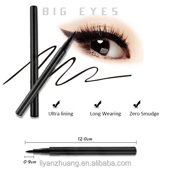 Commercio all'ingrosso Eyeliner, nero Eye Liner Waterproof Eyeliner Pencil