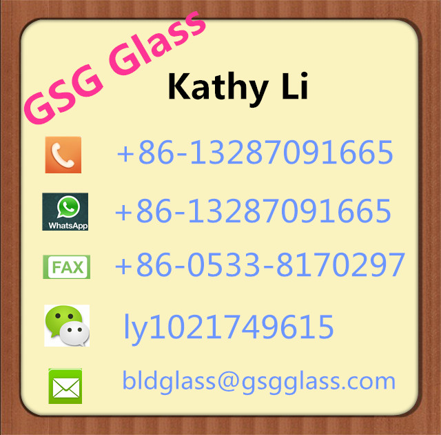 Solar cell module used low iron 3mm tempered glass factory price