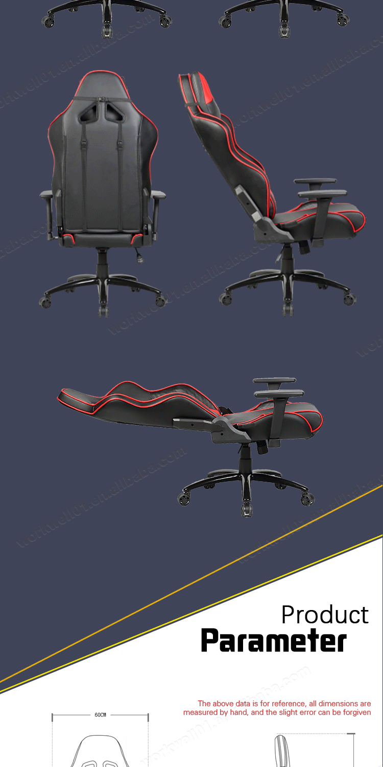 Manufacturer price adjustable lift gaming chair