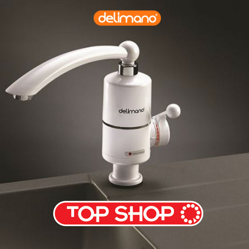 Electric Tankless Water Heater Delimano Kitchen Bathroom