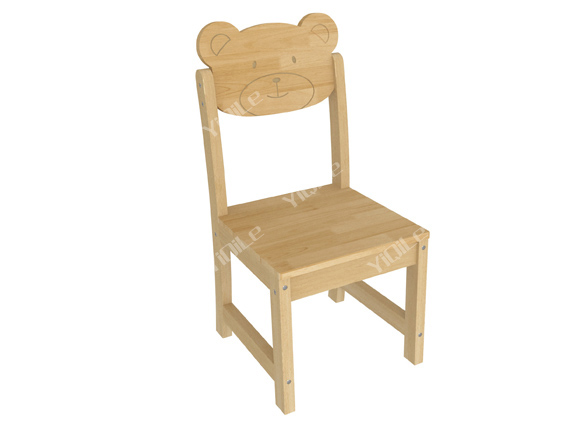 Lovely childrens wooden chair cute kid furniture for for Small chair for kid