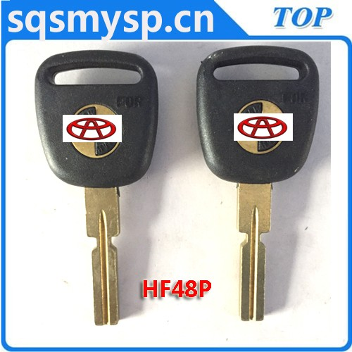 C-047 Plastic Old car key blanks manufactuers TOYO-18P TY43P80 TOY40P LXP90P in china