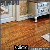 Ceramic floor tile that foshan china cheap tile looks like wood floor guangzhou