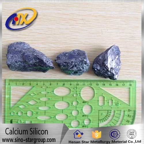 high pure casi 60 30 silicon calcium 1-3mm silicon calcium block silicon calcium metal
