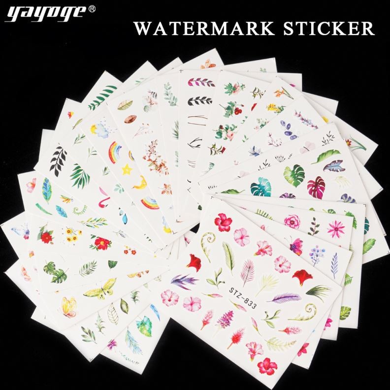 Gel Use Tattoo Sticker 3D Nail Art Design Crystal