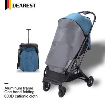 Dearest 2020 Baby Stroller Easy Fold Pram For Baby New ...