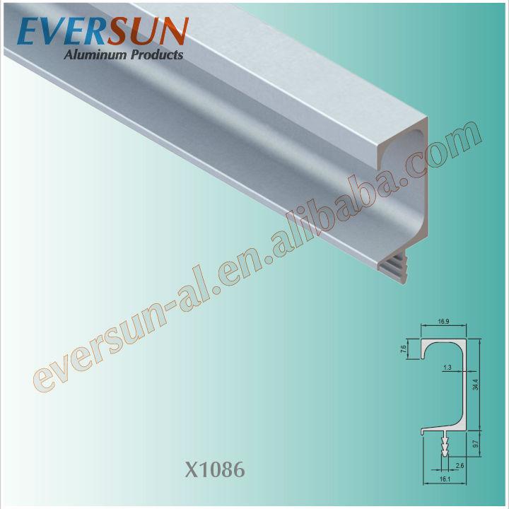 Long Hidden Aluminium Profile Kitchen Cabinet G Handle - Buy Cabinet ...