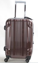 Carry-On bag high quality aluminum frame PC travel luggage DC----7117