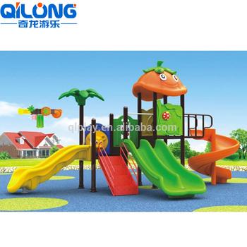 Vivero De Juegos Al Aire Libre Tubo Diapositiva De Plastico Jardin