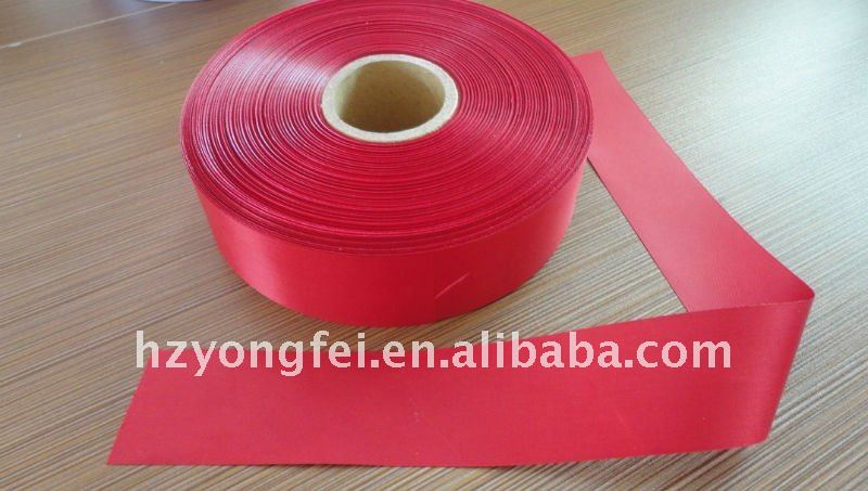 100% polyester taffeta label fabric