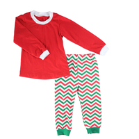 KAIYO OEM service persnickety remake chevron fabric kids clothing wholesale carters baby clothes cotton sleepwear children wear
