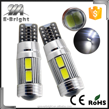 T10 10SMD 5630 W5W canbus led194 168 2825 Car Side Wedge Light Automotive T10 LED Light Bulbs Replacement Parts