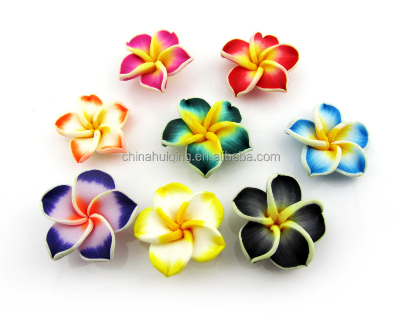 Handmade Miniature Jewelry Accessory Clay Art Flower