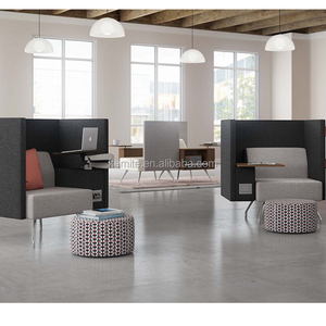 High-Quality Office Telephone Booth/Meeting Pod With TV desk/Office Sofa Design