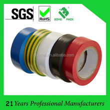 PVC insulation electrical tape with10 m length 19mm width