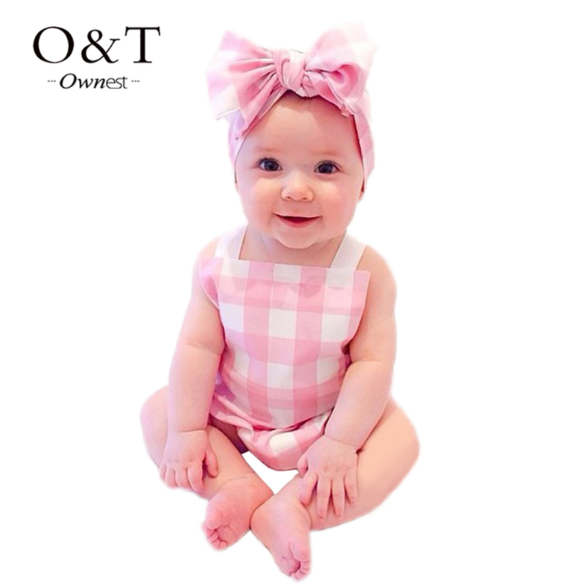 OWNEST Elegant baby clothing set + Headband England Style Plaid Sleeveless  Boy Girl clothes Cute Children Suits ~ baby clothing ~ Bajby.com - is the  leading ... b1cb0fe4709