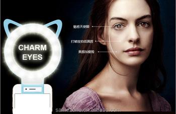 Superb Internet Star Video Photo Take Cellphone Front Camera Eye Light Smartphone  Selfie Ring Light