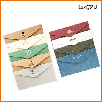 New style vintage theme promotional packaging personalized greeting new style vintage theme promotional packaging personalized greeting card envelope m4hsunfo