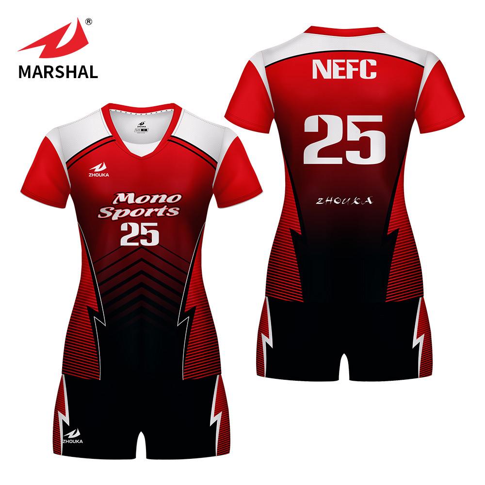 2019 Custom Volleyball Jersey Design Team Custom Mens And Women Wear Volleyball Jerseys View Custom Volleyball Jersey Design Product Details From Guangzhou Marshal Clothes Co Ltd On Alibaba Com
