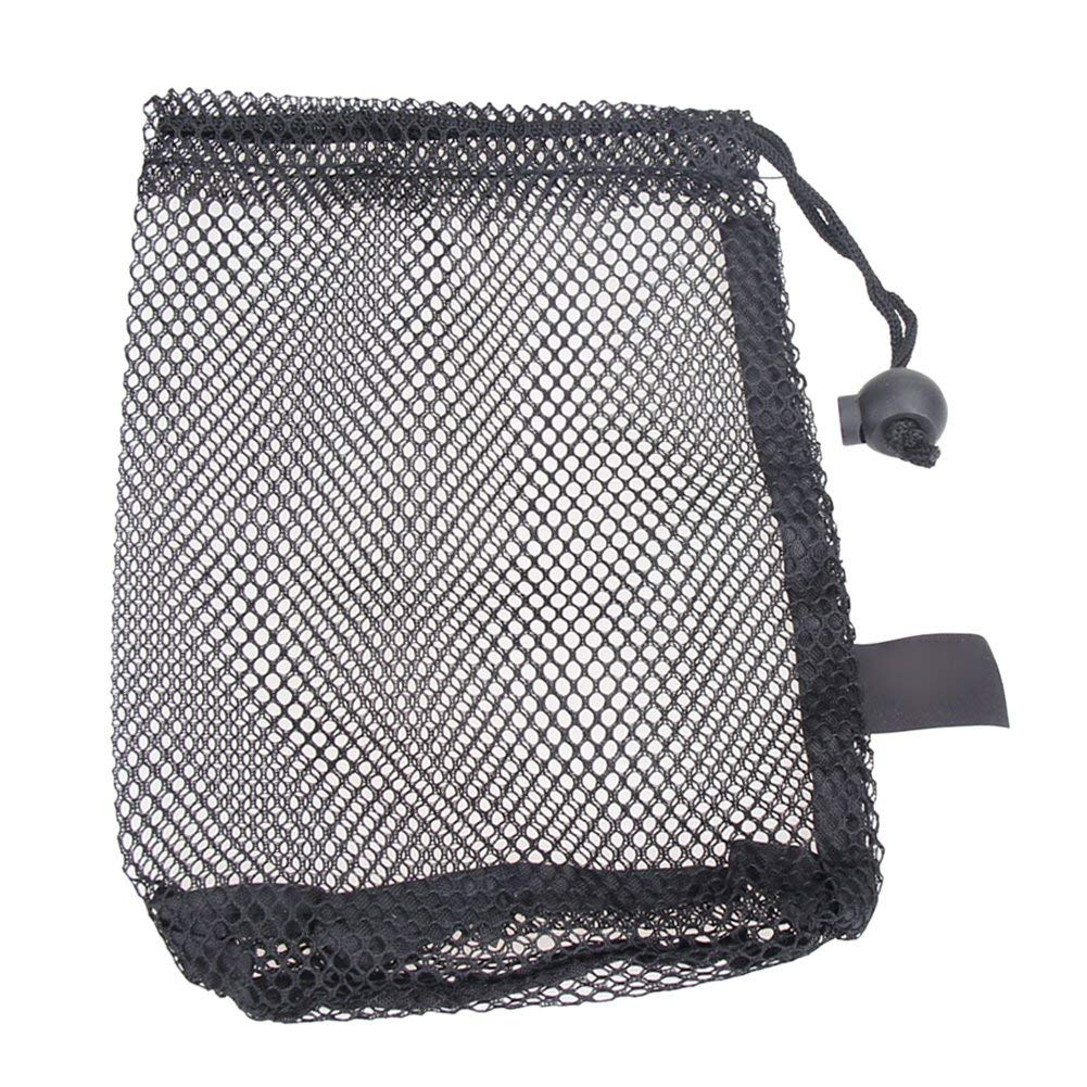 Alloet New Nylon Mesh Nets Bag Pouch Golf Tennis 15 Ball Carrying Holder Storage Durable