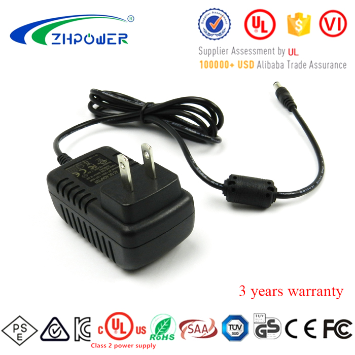 ac adapter 5v 800ma power supply for netgear route with UL FCC CE GS CB certifications