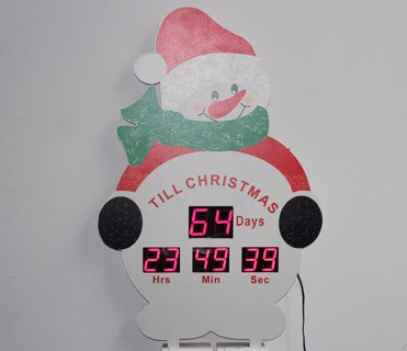 Home Wall Hanging Led Lights Sign Inflatable Countdown To