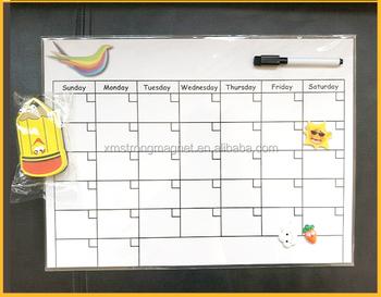 Magnetic Refrigerator Dry Erase Board Kitchen Fridge Chalkboard
