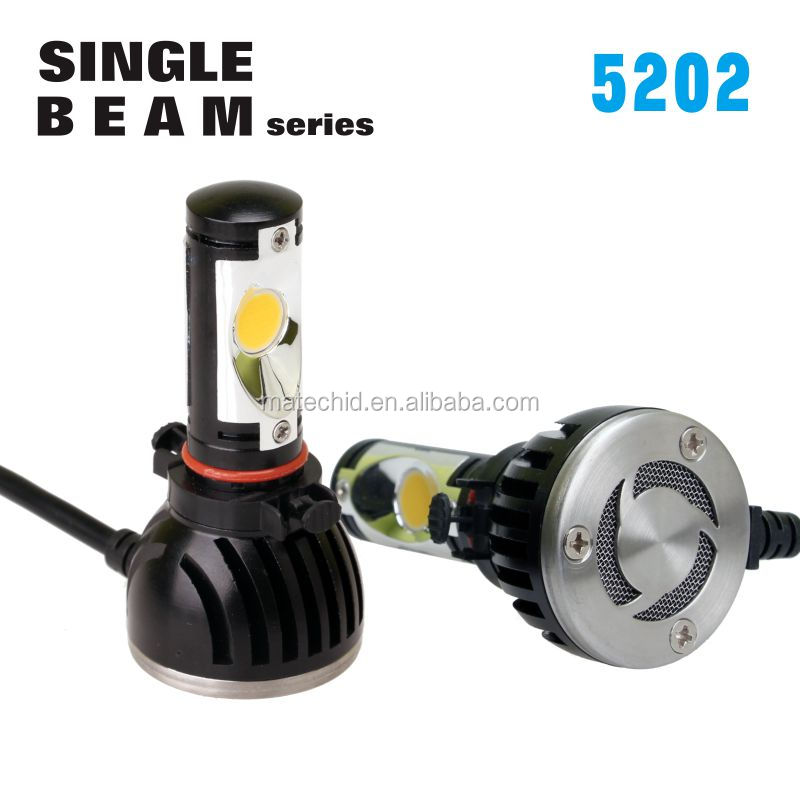 HOT SALE!! 3000K~8000K h16 5202 2504 psx24w <strong>cree</strong> cxa1512 led headlight