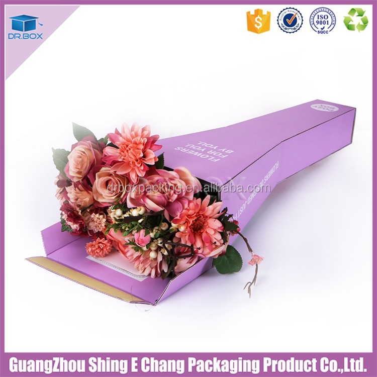 cardboard boxes decorated floral box flower cardboard vases