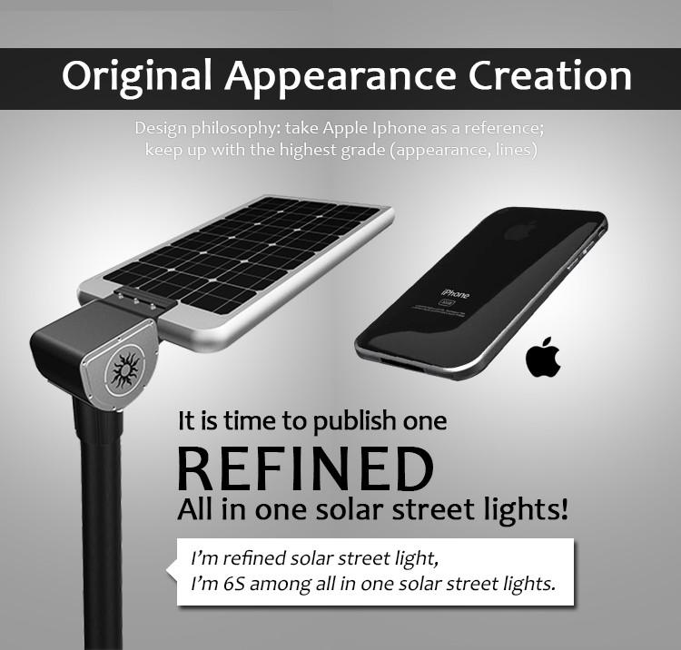 Ip67 12v 40w Motion Sensor All In One Integrated Solar Led Street ...