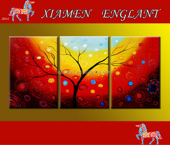 Wholesale Best Office Paintings For Abstract Tree Pictures
