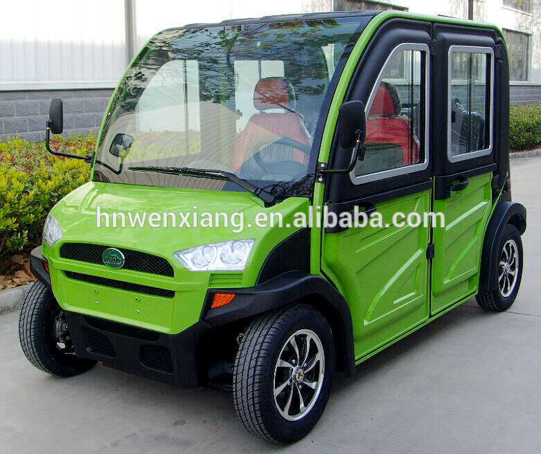 Seats Electric Golf Club Car Golf Cart Passenger Vehicle For