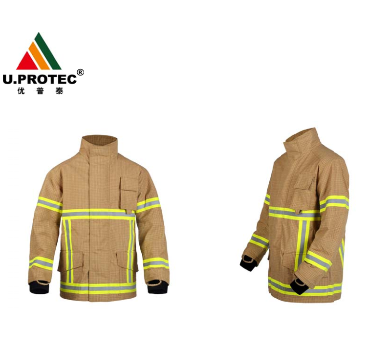PBI Nomex Kevlar Firefighter suit DRD system Turnout gear EN469