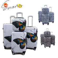 Luggage 2015 Butterfly Suitcase
