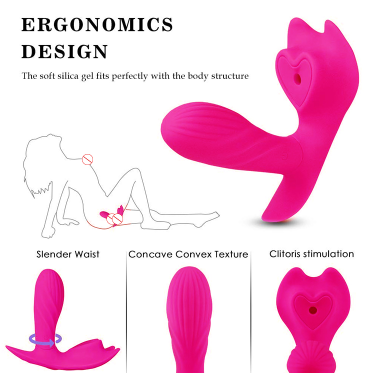 Erotic Sex Toys Wireless Remote Control Heating Wearable Vibrator Stimulating Clitoris for Adult Women