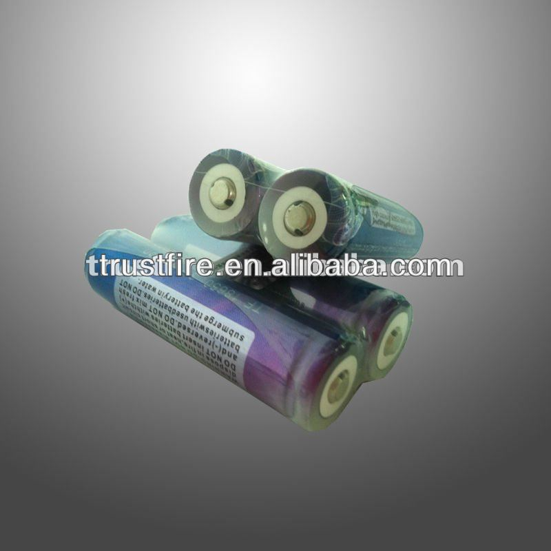 TrustFire Rechargeable Li Ion Battery 18650 3.7v 2000mah with pcb 18650 rechargeable battery from shenzhen original Trustfire