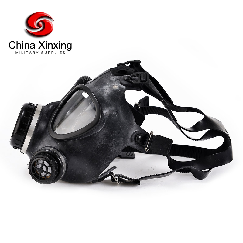Gas full face mask for police industrial level for army, with canister for army tactical army equipment