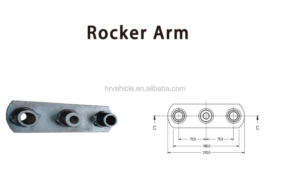 ROKER ARM FOR BOAT TRAILER