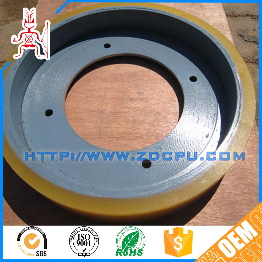 High quality heat resistant o ring pulley