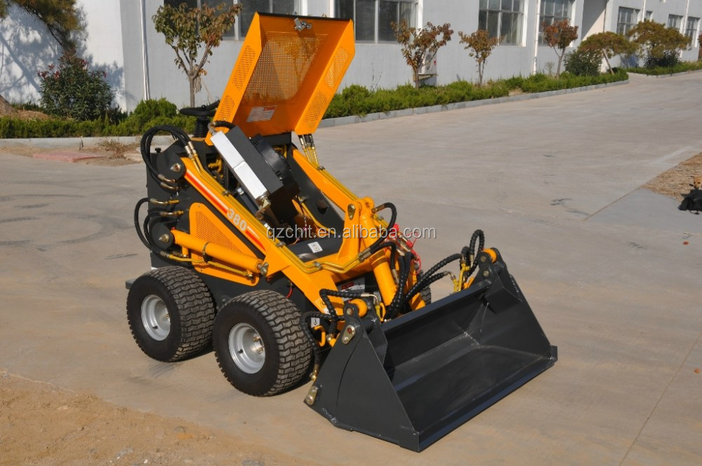 Cheap Mini Skid Steer Wheel Loader With Quick Hitch - Buy ...